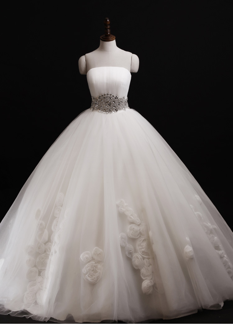 2016 spring wedding gown plus size lace up rose skirt for Antique rose wedding dress