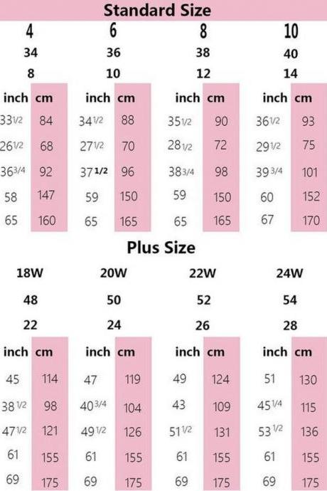 SIZE CHART AND HOW TO MEASURE